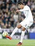 Real Madrid's Raphael Varane during La Liga match. March 20,2016. (ALTERPHOTOS/Acero)
