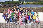 Large numbers show interest for the Bridge Fishing Competition in Cahersiveen on Friday last part of the Cahersiveen Festival of Music and the Arts, over 180 fish in total were caught and released, with John Cooper & Sabastian Stroir taking joint first place Liam Andy Cooney caught the largest fish a 35cm Rass.