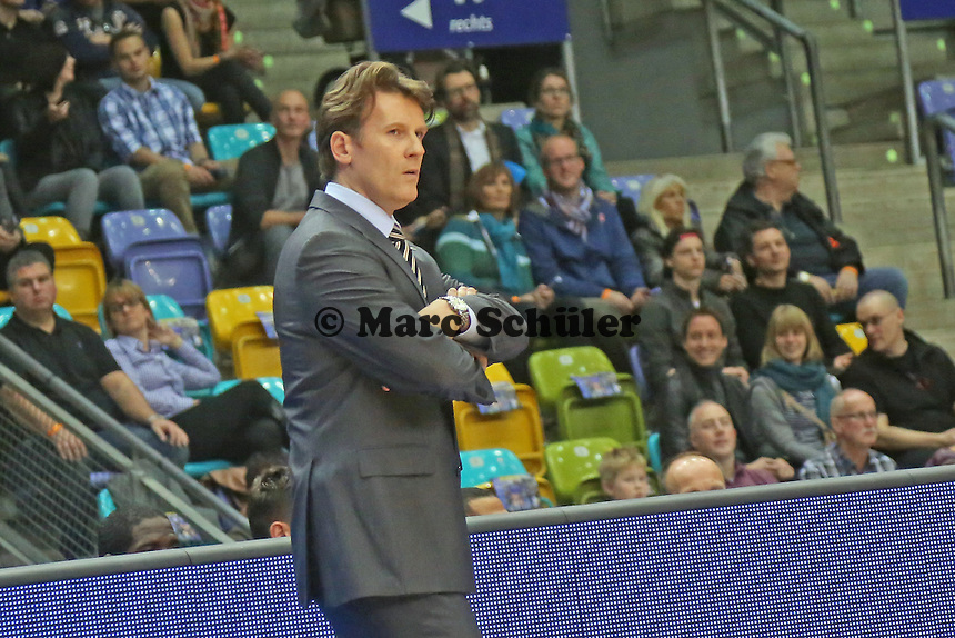 Trainer Mathias Fischer (Bonn) - Fraport Skyliners vs. Telekom Baskets Bonn, Fraport Arena Frankfurt