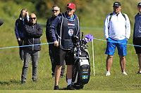 Niklas Lemke (SWE) on the 4th green during Round 4 of the Betfred British Masters 2019 at Hillside Golf Club, Southport, Lancashire, England. 12/05/19<br /> <br /> Picture: Thos Caffrey / Golffile<br /> <br /> All photos usage must carry mandatory copyright credit (© Golffile | Thos Caffrey)