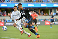San Jose, CA - Saturday June 09, 2018: Danny Hoesen during a Major League Soccer (MLS) match between the San Jose Earthquakes and Los Angeles Football Club at Avaya Stadium.
