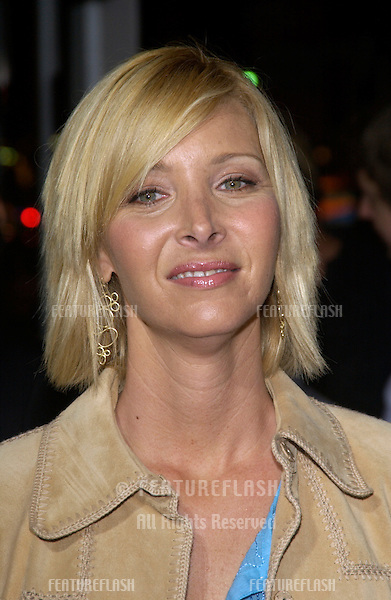 Actress LISA KUDROW at the Los Angeles premiere of her new movie Wonderland..Sept 24, 2003