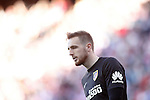 Atletico de Madrid's Jan Oblak during La Liga match. April 17,2016. (ALTERPHOTOS/Acero)