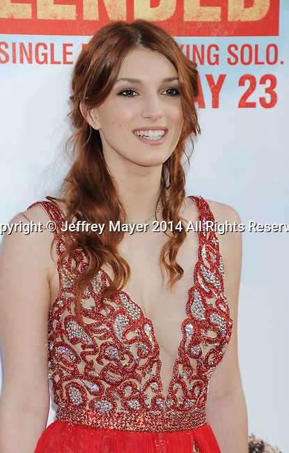 HOLLYWOOD, CA- MAY 21: Actress Dani Thorne arrives at the Los Angeles premiere of 'Blended' at TCL Chinese Theatre on May 21, 2014 in Hollywood, California.