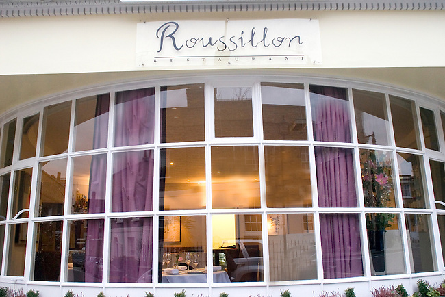 Exterior, Roussillon Restaurant, Belgrovia, London, Great Britain, Europe