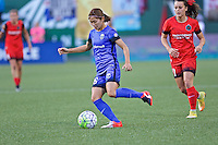 Portland, OR - Saturday July 30, 2016: Nahomi Kawasumi during a regular season National Women's Soccer League (NWSL) match between the Portland Thorns FC and Seattle Reign FC at Providence Park.