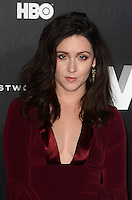 HOLLYWOOD, CA - SEPTEMBER 28: Shannon Woodward at the premiere of HBO's 'Westworld' at TCL Chinese Theatre on September 28, 2016 in Hollywood, California. Credit: David Edwards/MediaPunch