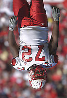 21 October 2006:  N.C. State DT DeMarcus Tank Tyler (72).&amp;#xD;The Maryland Terapins defeated the N.C. State Wolfpack 26-20 October 21, 2006 at Chevy Chase Bank Field at Byrd Stadium in College Park, MD.&amp;#xD;<br />