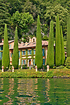 Villa Cassinella, located near the town of Lenno, on Lake Como, Italy
