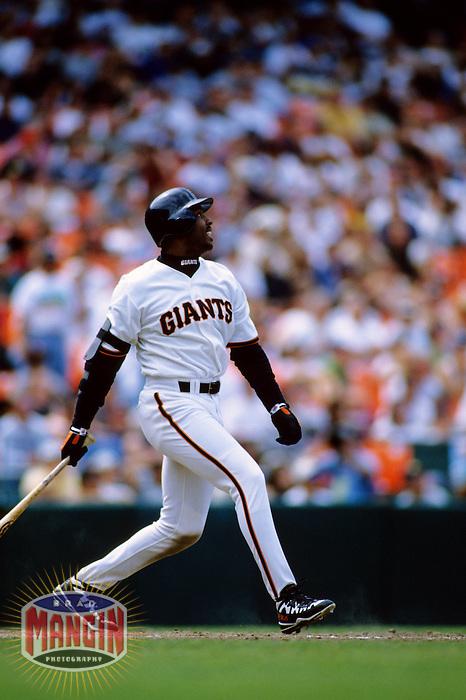 Baseball: San Francisco Giants Barry Bonds. San Francisco, CA 5/30/1998 MANDATORY CREDIT: Brad Mangin
