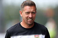 Barnet head coach Darren Currie during Barnet vs Wycombe Wanderers, Friendly Match Football at the Hive Stadium on 13th July 2019