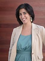 Amanda Fruta '09 - Portrait taken for Hameetman Career Center (HCC) brochure, March 10, 2016.<br /> (Photo by Marc Campos, Occidental College Photographer)