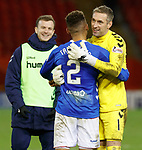 06.02.2019:Aberdeen v Rangers: Allan McGregor at full time