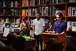 CORAL GABLES, FL - AUGUST 06:  P. Scott Cunningham and Nick Vagnoni discusses and sign copies of 'Forager: A Subjective Guide to Miami's Edible Plants' at Books and Books on Wednesday August 6, 2014 in Coral Gables, Florida. (Photo by Johnny Louis/jlnphotography.com)