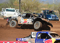 Apr 17, 2011; Surprise, AZ USA; LOORRS driver Kent Brascho during round 4 at Speedworld Off Road Park. Mandatory Credit: Mark J. Rebilas-
