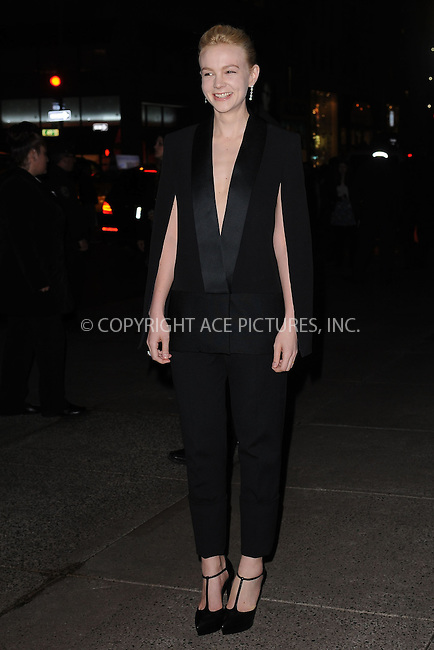 WWW.ACEPIXS.COM . . . . . .April 18, 2013...New York City....Carey Mulligan at the Tiffany & Co. 2013 Blue Book Collection Ball at Rockefeller Center on April 18, 2013 in New York City ....Please byline: KRISTIN CALLAHAN - ACEPIXS.COM.. . . . . . ..Ace Pictures, Inc: ..tel: (212) 243 8787 or (646) 769 0430..e-mail: info@acepixs.com..web: http://www.acepixs.com .