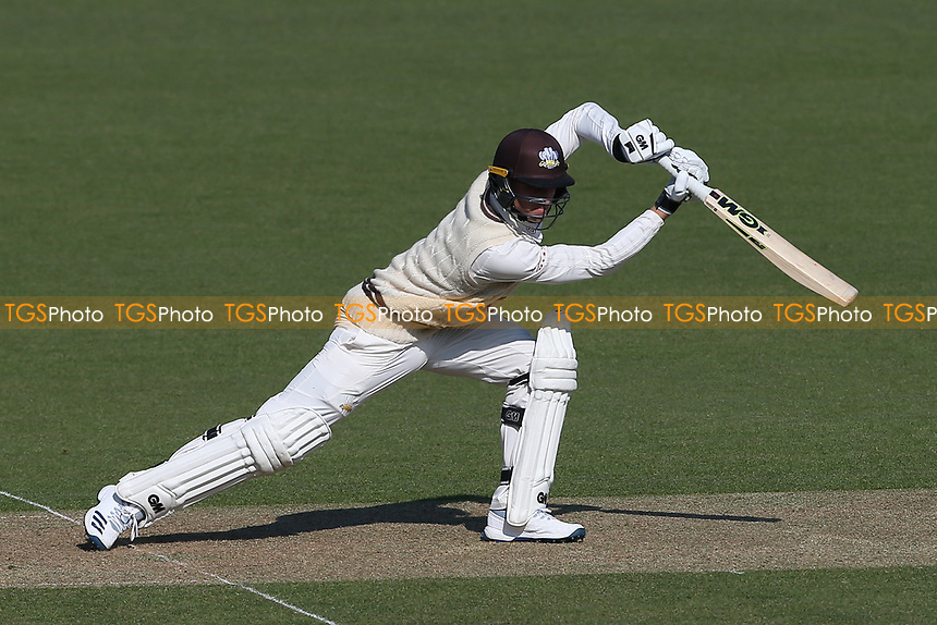 Will Jacks in batting action for Surrey during Surrey CCC vs Essex CCC, Specsavers County Championship Division 1 Cricket at the Kia Oval on 11th April 2019