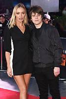 """Roxy Horner and Jake Bugg<br /> arriving for the """"Rampage"""" premiere at the Cineworld Empire Leicester Square, London<br /> <br /> ©Ash Knotek  D3395  11/04/2018"""