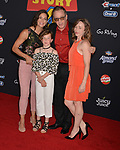 "Tim Allen, wife and daughters 024 arrives at the premiere of Disney and Pixar's ""Toy Story 4"" on June 11, 2019 in Los Angeles, California."