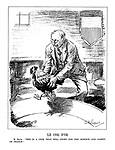 """Le Coq d'Or. M. Blum. """"This is a cock that will fight for the honour and safety of France."""""""