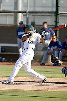 Nino Leyja - Oakland Athletics 2009 Instructional League. .Photo by:  Bill Mitchell/Four Seam Images..