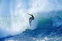 Tom Curren (USA) 3 times World Surfing Champion at the 1996 Rip Curl Pro at Bells Beach, Torquay, Victoria, Australia. Photo: joliphotos.com