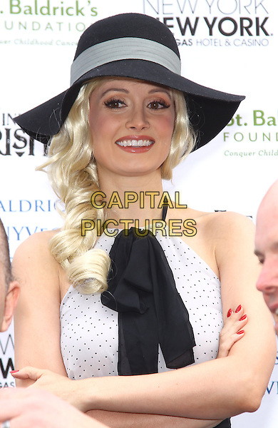 01 March 2014 - Las Vegas, NV -  Holly Madison. Holly Madison serves as a  a celebrity shaver at the St. Baldrick's Fundraiser to benefit Childhood Cancer Research at New York-New York Hotel and Casino. <br /> CAP/ADM/MJT<br /> &copy; MJT/AdMedia/Capital Pictures