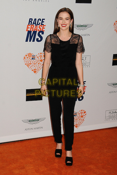 02 May 2014 - Century City, California - Zoey Deutch. 21st Annual Race to Erase MS Gala held at the Hyatt Regency Century Plaza.  <br /> CAP/ADM/BP<br /> &copy;Byron Purvis/AdMedia/Capital Pictures