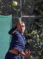 Hilversum, Netherlands, August 10, 2016, National Junior Championships, NJK,  Jay Zwinkels (NED)<br /> Photo: Tennisimages/Henk Koster
