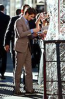 MADRI, ESPANHA, 21 JUNHO 2012 - PREMIERE THE AMAZING SPIDER MAN -  O ator Andrew Garfield e a atriz Emma Stone durante premiere do filme The Amazing Spider-Man no Callao Cinema em Madrid nesta quinta-feira, 21. (FOTO: BILLY CHAPPEL / ALFAQUI /  BRAZIL PHOTO PRESS).