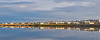 Village of Kaktovik, Barter Island, Beaufort Sea, Alaska.