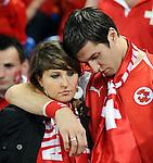 EM Fotos Fussball UEFA Europameisterschaft 2008: Schweiz - Tuerkei