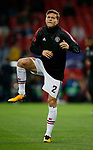 Victor Lindelof of Manchester United warms up before the Champions League Group A match at the Old Trafford Stadium, Manchester. Picture date: September 12th 2017. Picture credit should read: Andrew Yates/Sportimage