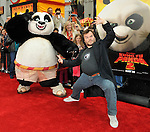 Jack Black and Po arriving at the Kung Fu Panda 2 premiere, held at Mann's Chinese theatre Los Angeles, Ca. May 22, 2011. © Fitzroy Barrett
