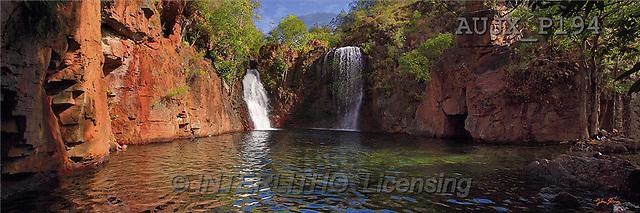 Dr. Xiong, LANDSCAPES, panoramic, photos, Florence Falls, Australia(AUJXP194,#L#)