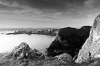 St Abbs and the Berwickshire Coast from St Abbs Head Nature Reserve, Scottish Borders