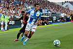 CD Leganes's Roberto Rosales  during La Liga match between CD Leganes and Atletico de Madrid at Butarque Stadium in Madrid, Spain. August 25, 2019. (ALTERPHOTOS/A. Perez Meca)