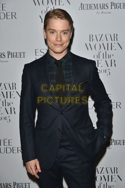 Freddie Fox<br /> Harper's Bazaar Women of the Year 2015 awards,  Claridges Hotel n London, November 03, 2015.<br /> CAP/PL<br /> &copy;Phil Loftus/Capital Pictures