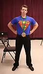Dominic Wintz during the Children's Theatre of Cincinnati presentation for composer Charles Strouse of 'Superman The Musical' at Ripley Grier Studios on June 8, 2018 in New York City.