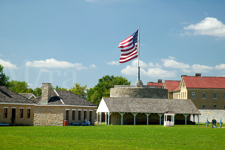 Parade Field at Fort Snelling Historic Site, Hennepin County, Minnesota