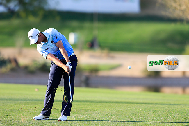 Brian Stuard (USA) during the 2nd round of the Waste Management Phoenix Open, TPC Scottsdale, Scottsdale, Arisona, USA. 01/02/2019.<br /> Picture Fran Caffrey / Golffile.ie<br /> <br /> All photo usage must carry mandatory copyright credit (© Golffile | Fran Caffrey)