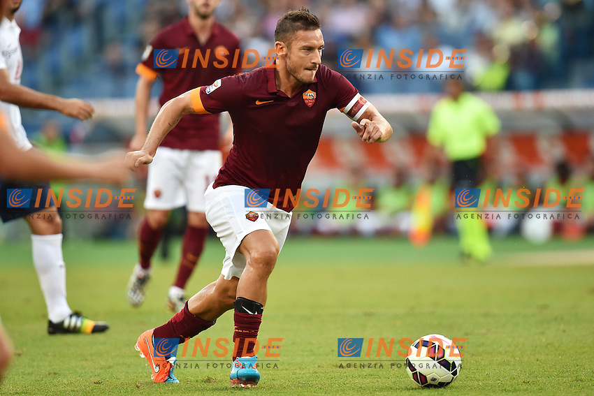 Francesco Totti Roma <br /> Roma 27-09-2014 Stadio Olimpico, Football Calcio Serie A AS Roma - Hellas Verona. Foto Andrea Staccioli / Insidefoto
