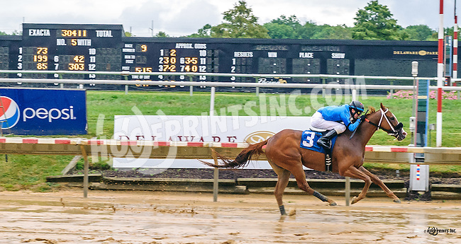 Mr Awesome Act winning at Delaware Park on 9/19/16