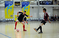 Hastings BHS v Logan Park. 2018 New Zealand Secondary Schools Boys' National Futsal Championships at ASB Sports Centre in Wellington, New Zealand on Wednesday, 21 March 2018. Photo: Dave Lintott / lintottphoto.co.nz