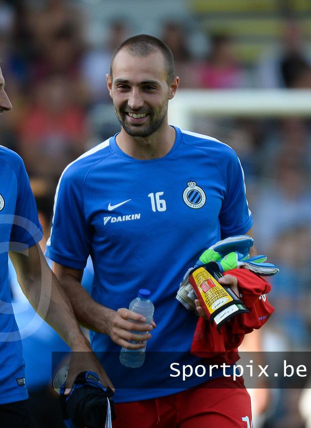 Club Brugge KV : Sebastien Bruzzese <br /> foto VDB / BART VANDENBROUCKE