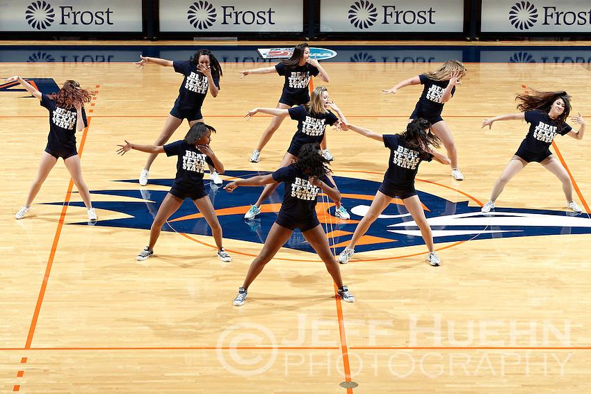 SAN ANTONIO, TX - FEBRUARY 26, 2011: The Texas State University Bobcats vs. the University of Texas at San Antonio Roadrunners Women's Basketball at the UTSA Convocation Center. (Photo by Jeff Huehn)
