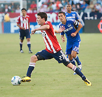 CARSON, CA – SEPTEMBER 19: Ben Zemanski (21) during a soccer match at Home Depot Center, September 19, 2010 in Carson California. Final score Chivas USA 0, Kansas City Wizards 2.