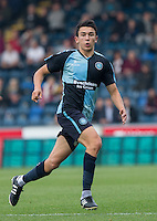 Luke O'Nien of Wycombe Wanderers during the Sky Bet League 2 match between Wycombe Wanderers and Northampton Town at Adams Park, High Wycombe, England on 3 October 2015. Photo by Andy Rowland.