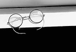 Old fashioned spectacles