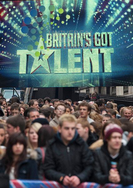 Britain's Got Talent in Edinburgh..Picture: Pavol Mraz/Universal News And Sport (Scotland). 11/ February 2012.